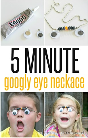 Googly Eye Necklace