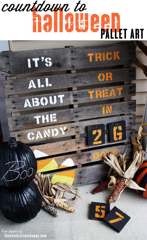 Easy DIY Frankenstein Pallet and Teal Pumpkin Project