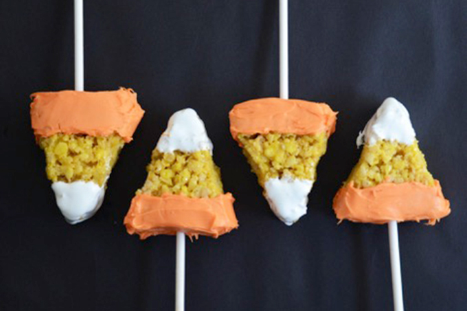 Candy Corn with a Crispy Twist