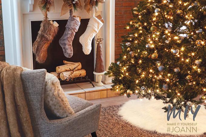 Fleece and Fur: MIY a Cozy Christmas