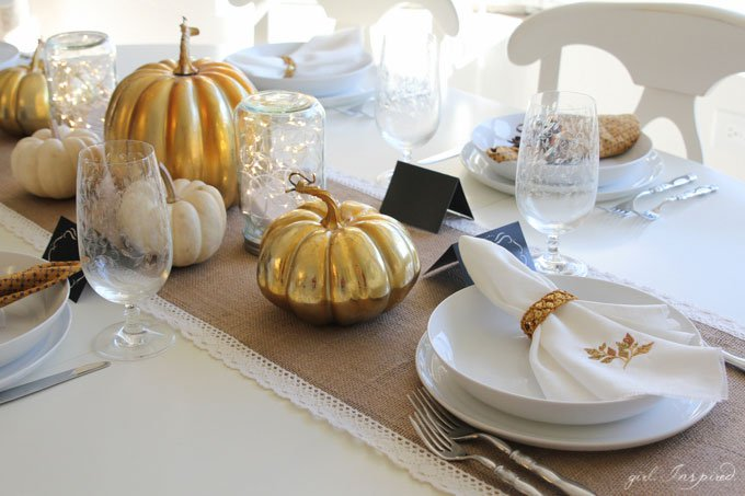 Illuminate Your Thanksgiving Tablescape
