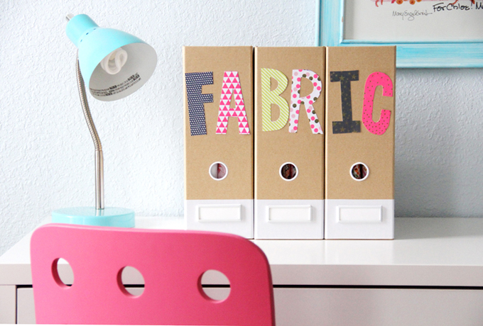 Clear Fabric Clutter with Clever Organization