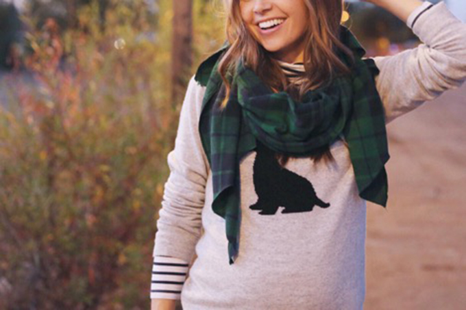 The Perfect DIY Blanket Scarf
