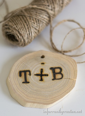 Bring the Outdoors In: Wood Burned Wood Slice