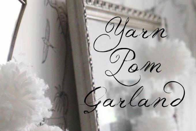 Yarn Pom Garland
