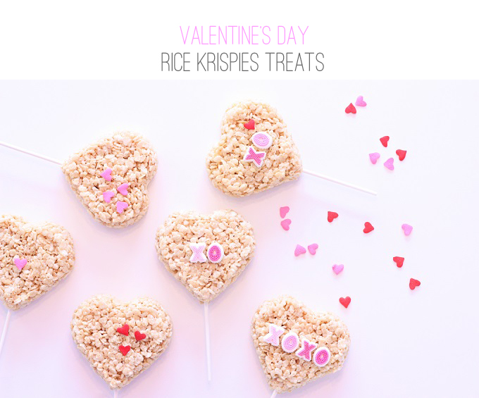 Valentine's Day Rice Crispies Treats