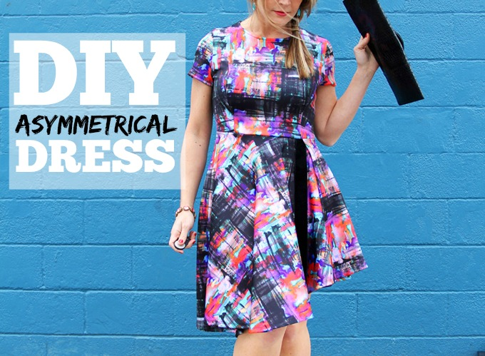 Asymmetrical Dress DIY
