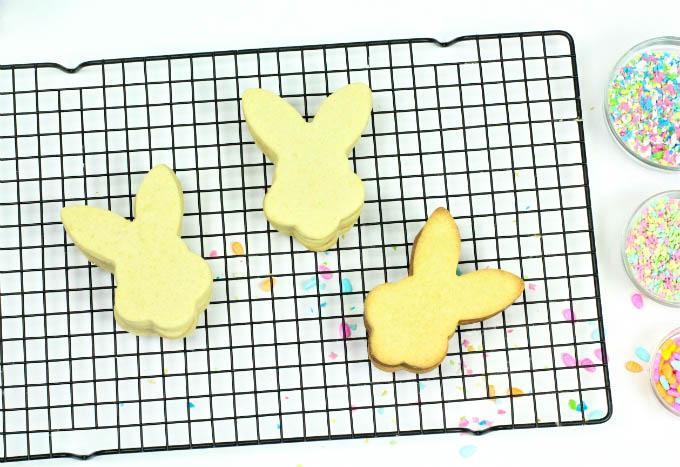 DIY Easter Bunny Piñata Cookies