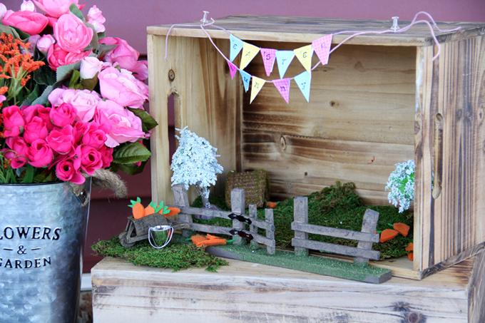 Easter Bunny Fairy Garden