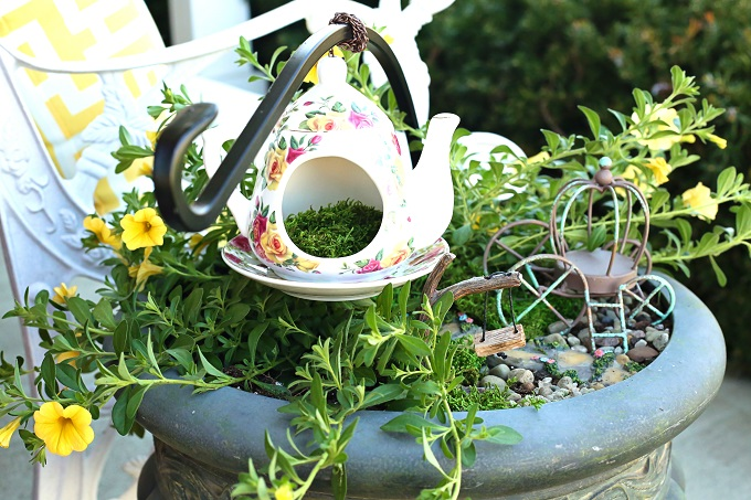 Create an Enchanted Teacup Fairy Garden in Minutes