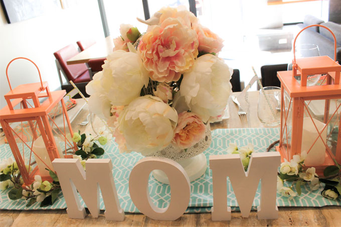 DIY Mother's Day Peony Tablescape