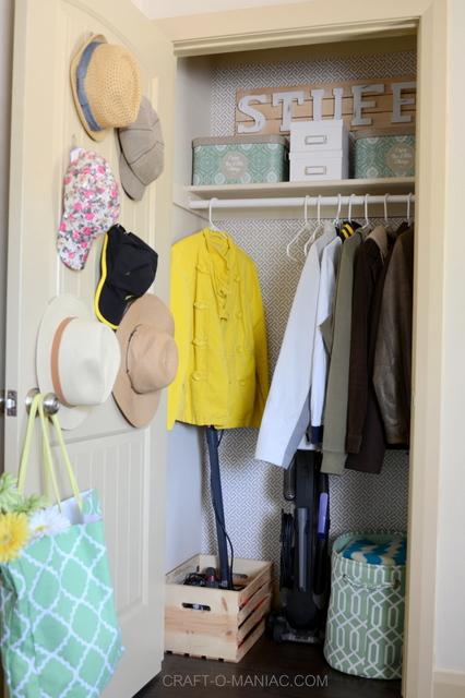 Spring Coat Closet Makeover