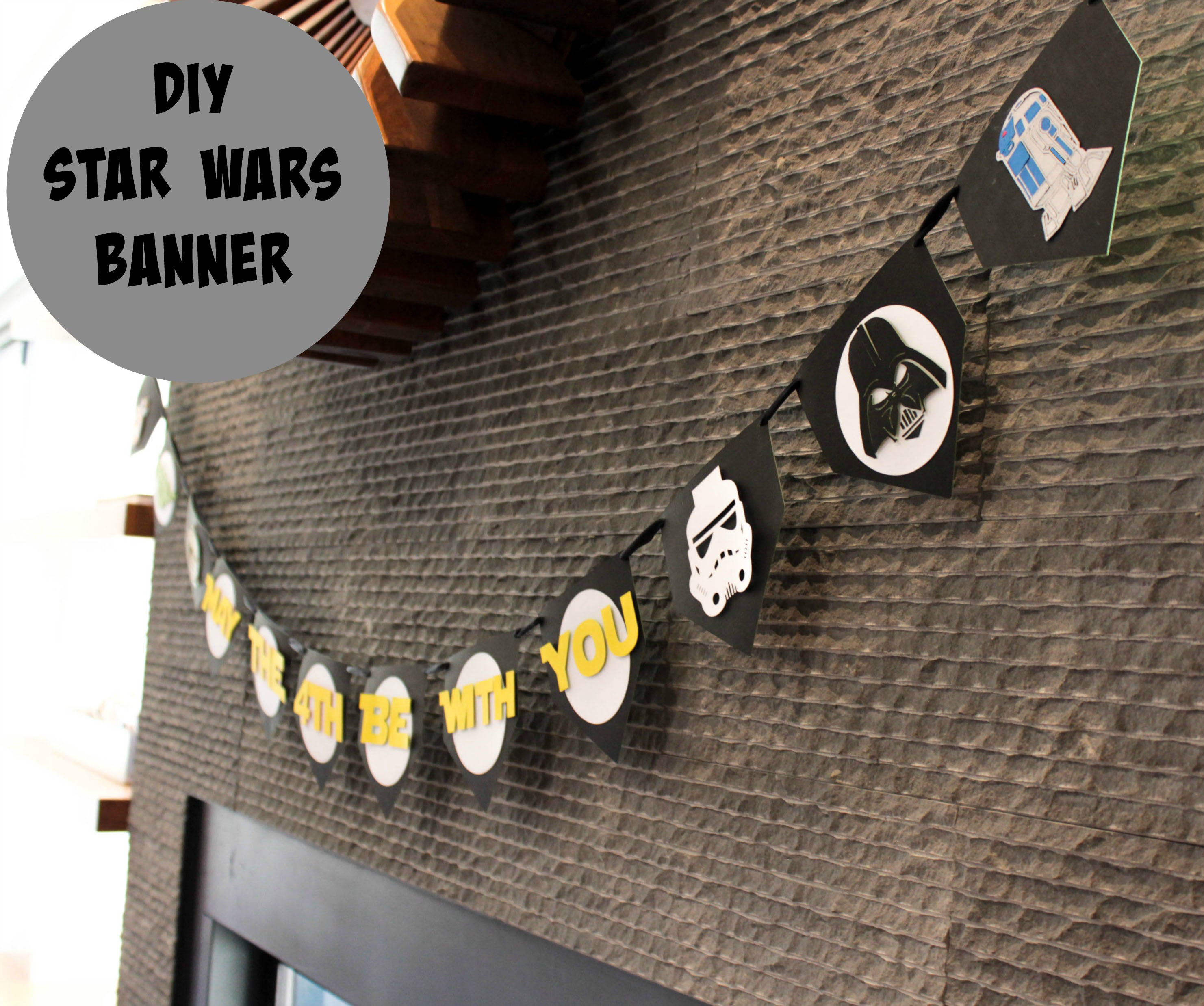 DIY Star Wars Banner