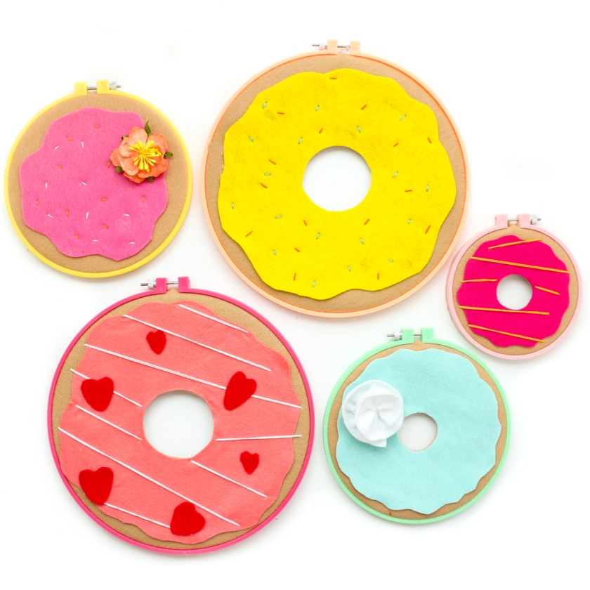 donut embroidery hoops