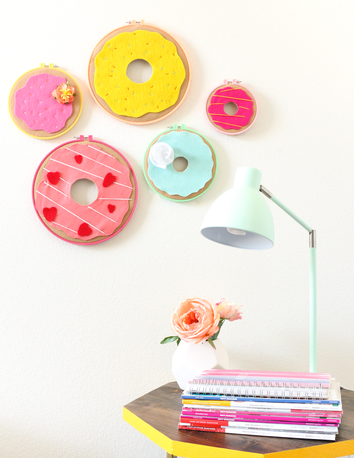 National Doughnut Day Inspired Wall Decor