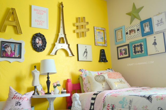 Parisian Inspired Kids' Bedroom Decor
