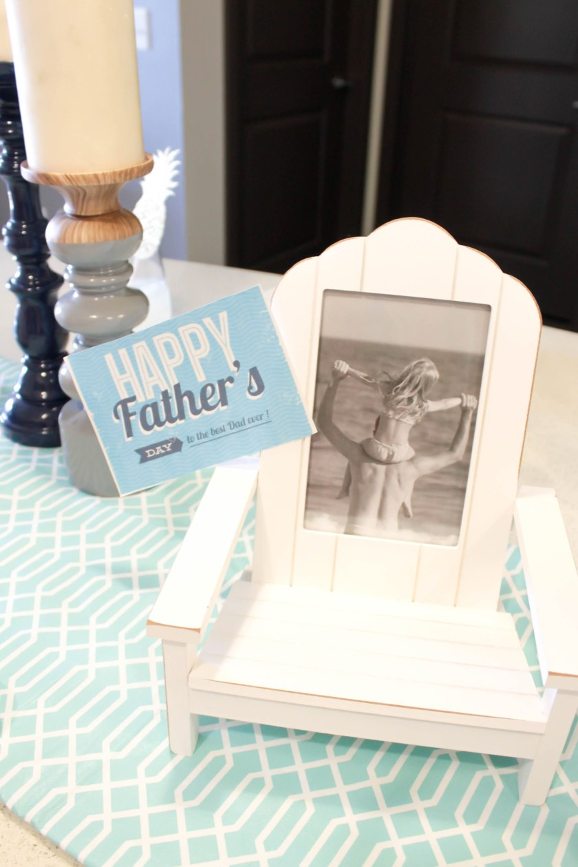 Father's Day Tablescape