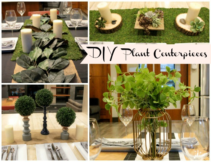 Four Lovely DIY Centerpieces