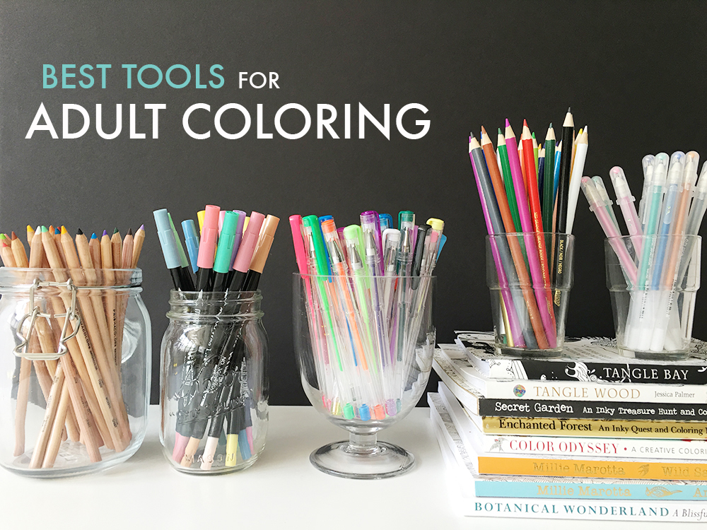 Best Tools for Adult Coloring