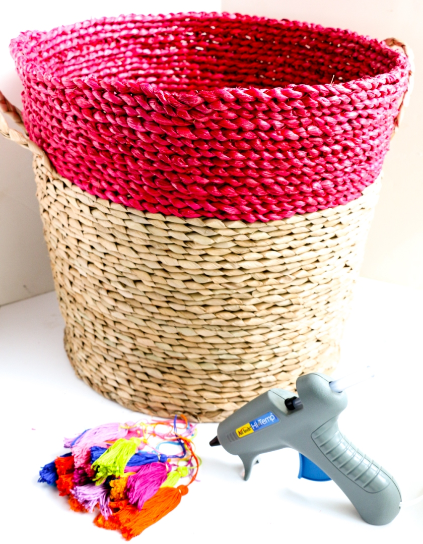 Tassel Basket Planter