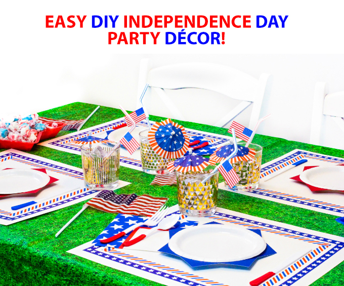 Easy DIY Independence Day Party Decor
