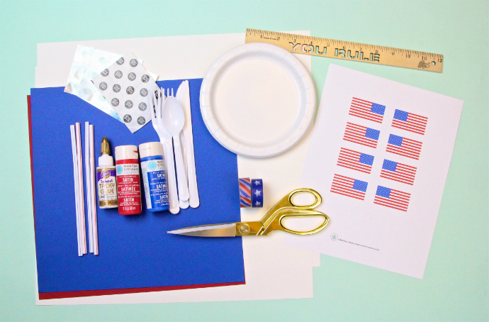 DIY Independence Day Party Decor