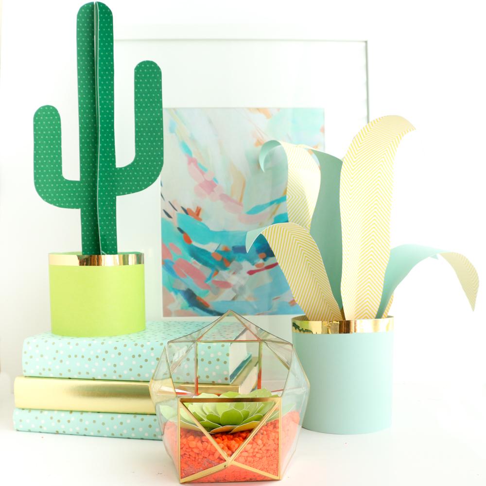 DIY Paper Plants