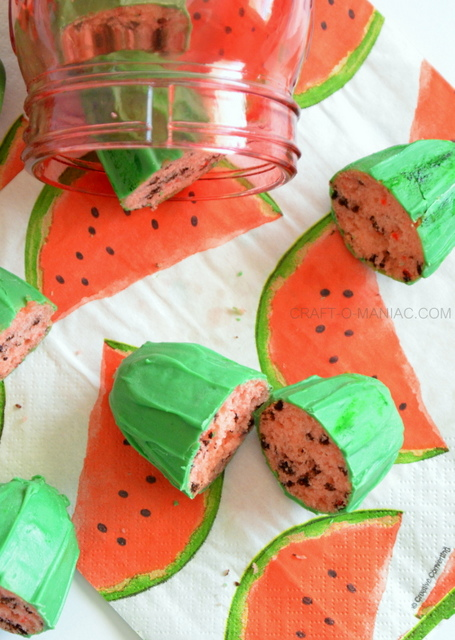 watermelon cake treats