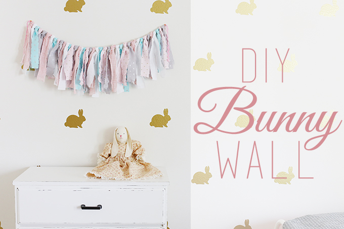 DIY Bunny Wall