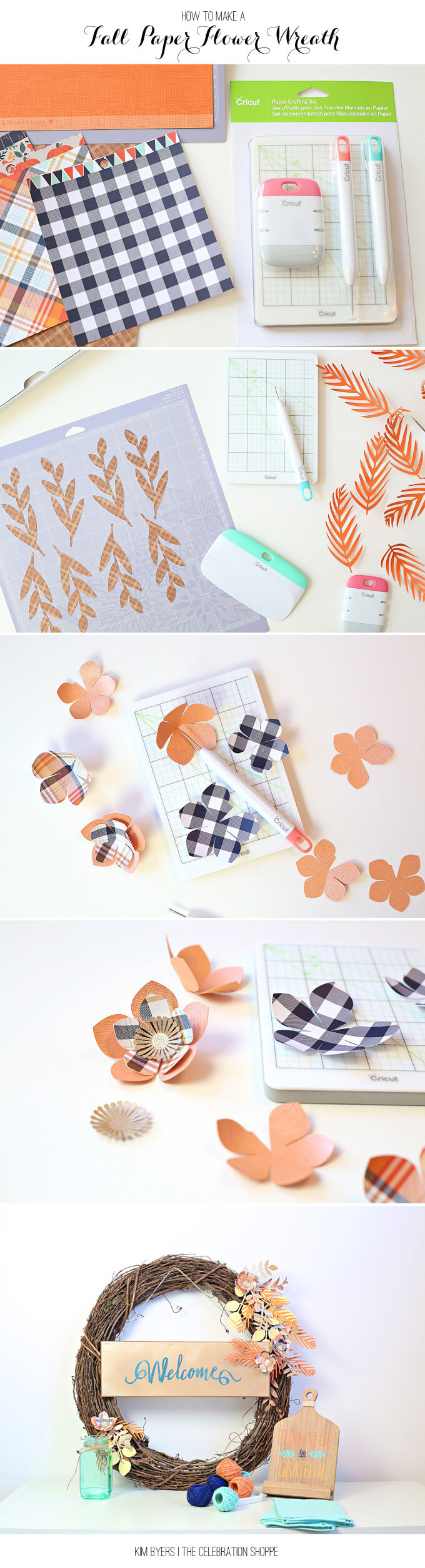 Fall Paper Flowers