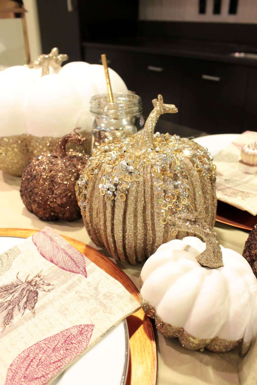 beautiful fall tablescape