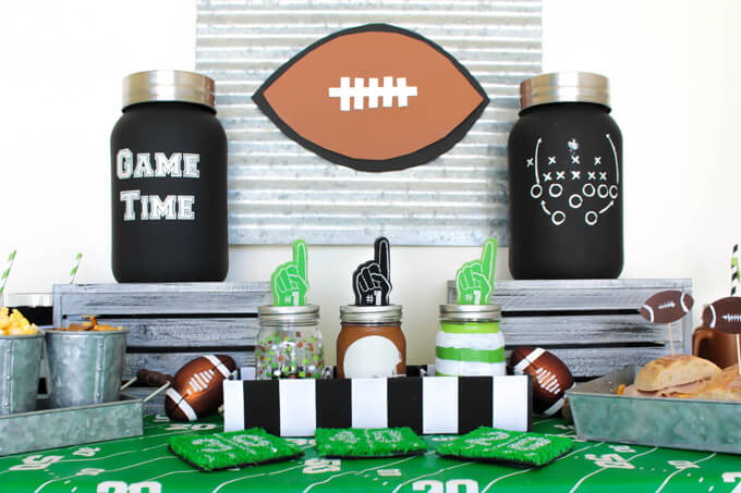 DIY Tailgating Home Party
