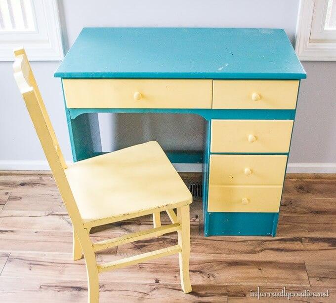 coral desk