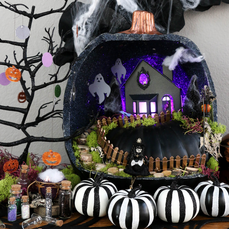 Spooktacular Fairy Garden