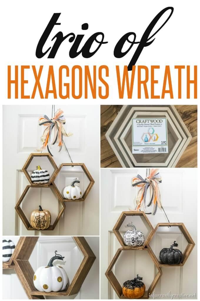 hex wreath