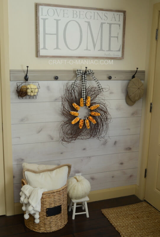 Simple DIY Wreath Perfect for Fall