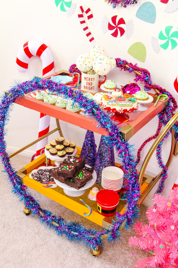 diy holiday dessert bar