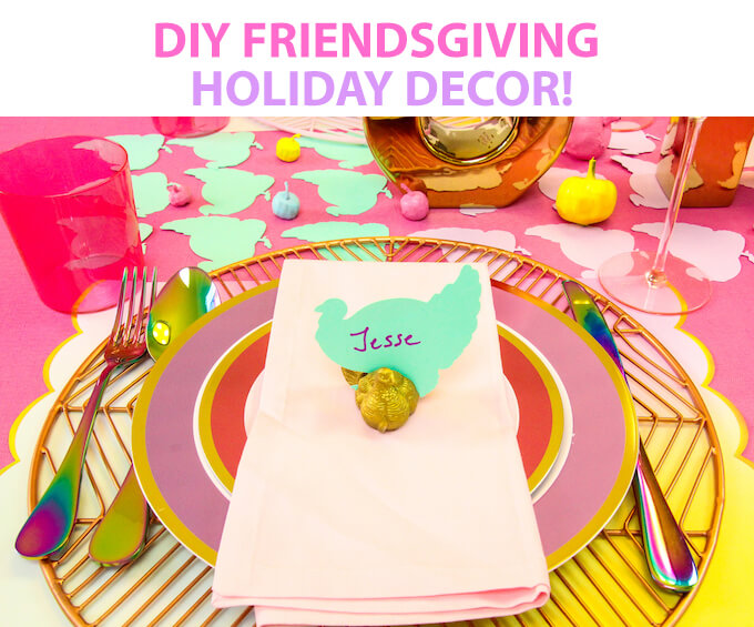 An Easy DIY Ombre Friendsgiving Holiday