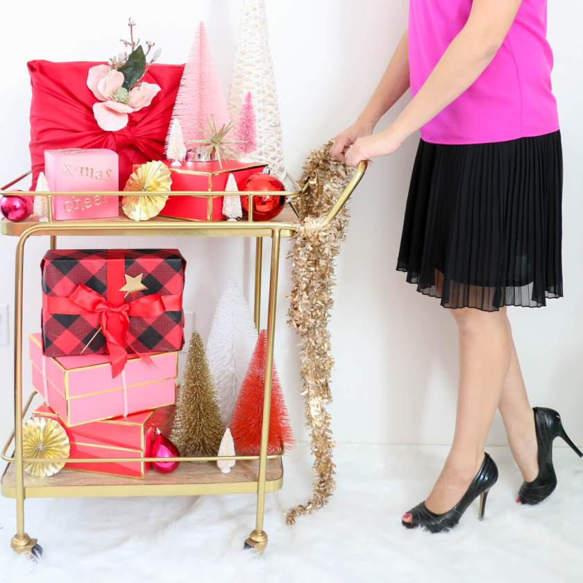 gift bar cart