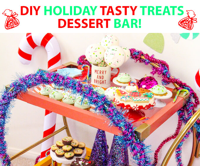 DIY Holiday Tasty Treats Dessert Bar