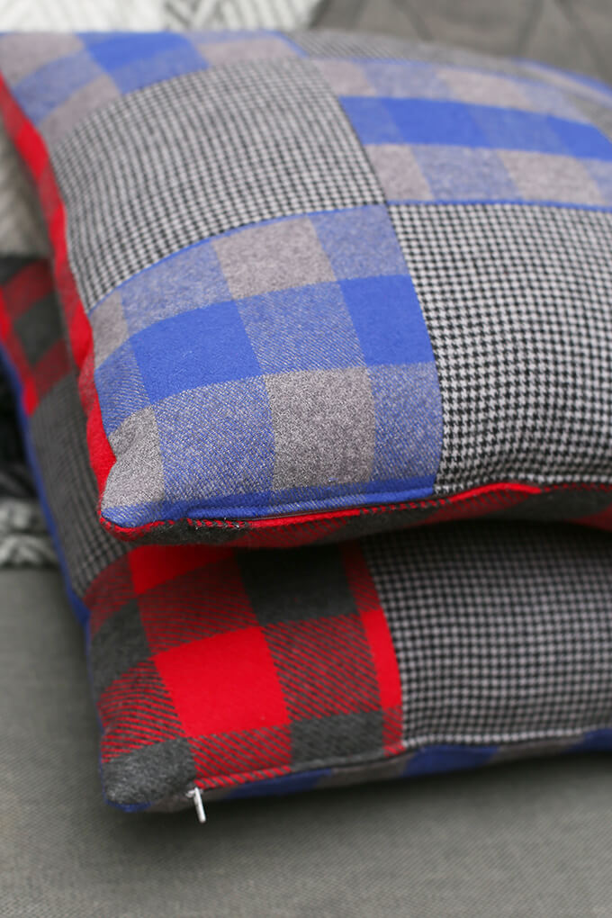 Flannel Patchwork Pill