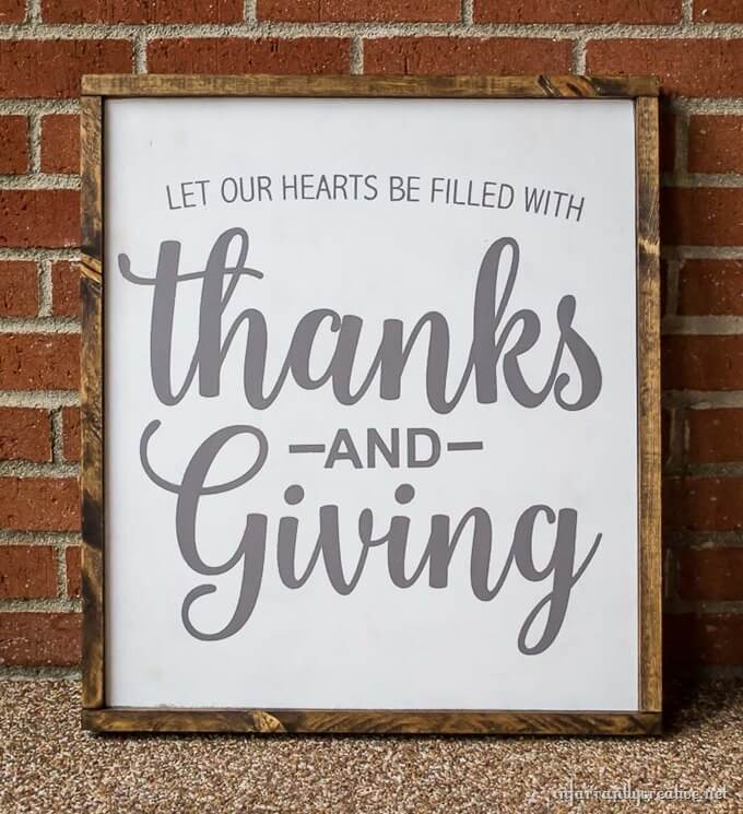thanksgiving wall decor