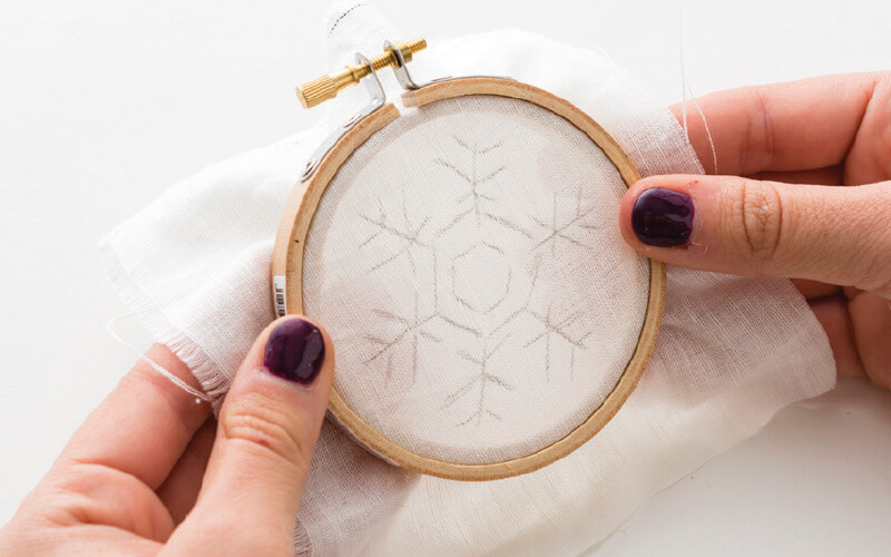 embroidery ornaments