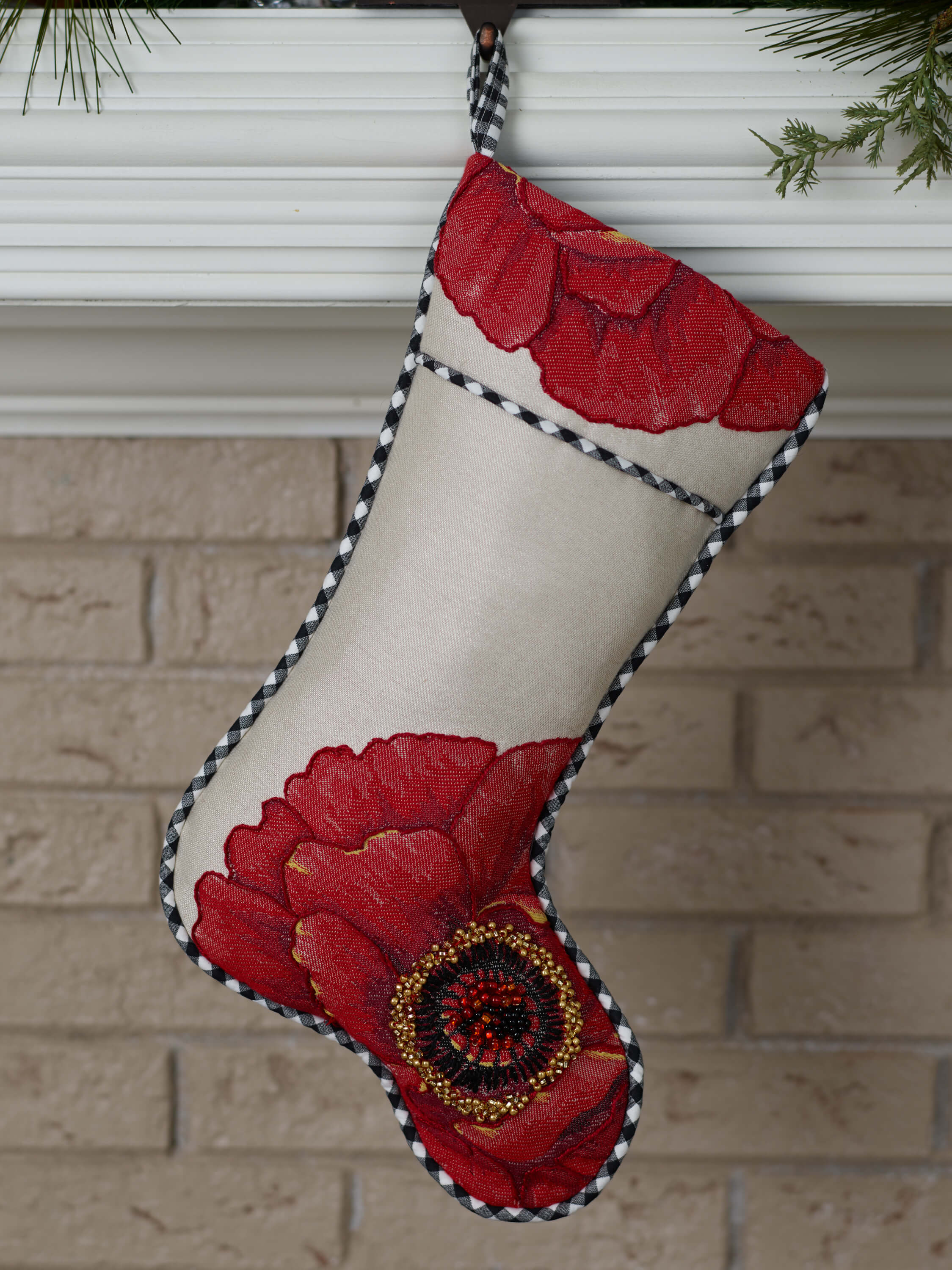 DIY Christmas Stocking with Square By Design