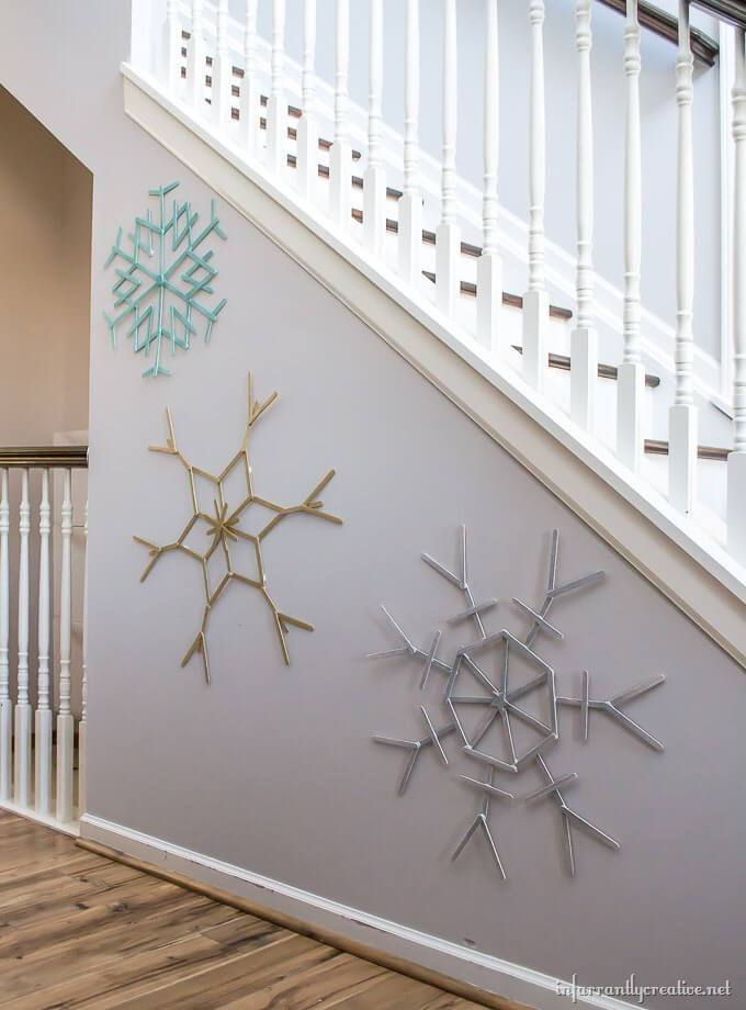 Easy to Make Snowflake Decor