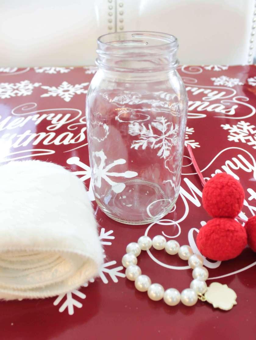 mason jar luminaries fairy garden