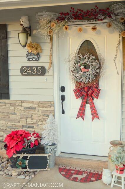Winter Wonderland Front Porch