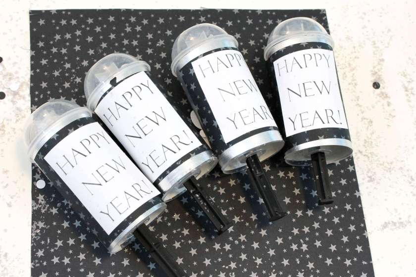 new years poppers