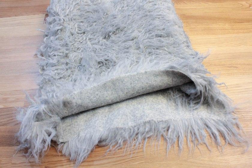 diy fur pillow and rug