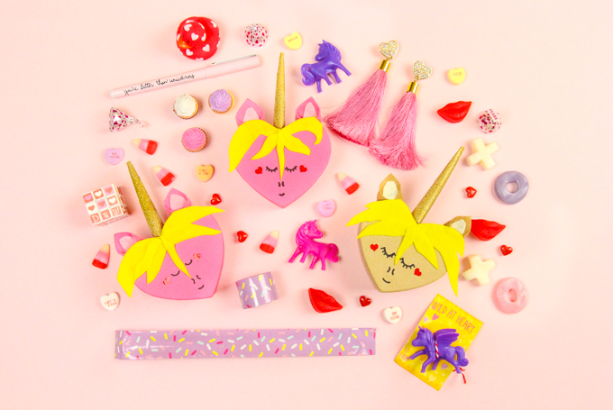 unicorn heart boxes